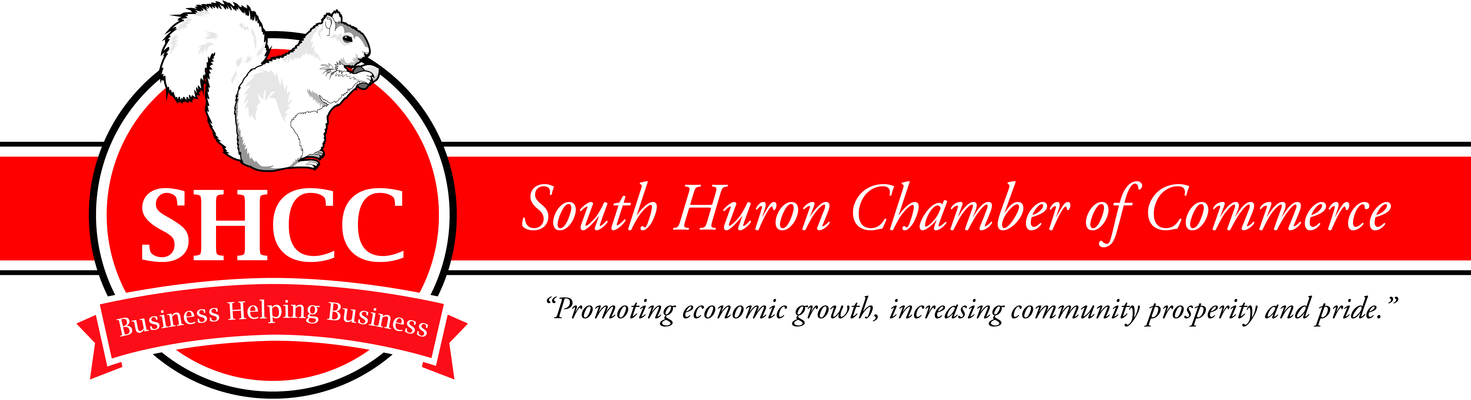 South Huron Chamber of Commerce banner