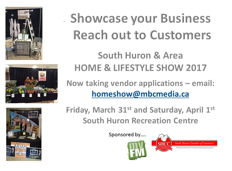 South Huron and Area Home and Lifestyle Show 2017